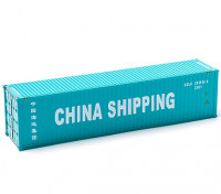 HO Scale 40ft Shipping Container (CHINA SHIPPING) side view