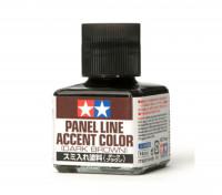 Tamiya Panel Line Enamel Accent Color Dark Brown (40ml)