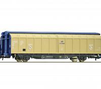 Roco/Fleischmann HO Scale 4 Wheel Sliding Wall Wagon PKP