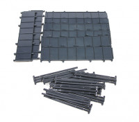 Micro Engineering HO Scale 85ft Plate Girder Bridge Kit 4pcs (80-180)
