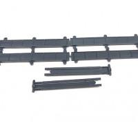 Micro Engineering HO Scale 30ft Plate Girder Bridge Kit 4pcs (80-167)