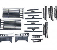 Micro Engineering HO Scale Bridge Support Kit (80-175)