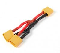XT90 batería arnés 10 AWG para 2 Paquetes en paralelo
