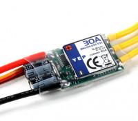 HobbyKing YEP 30A (2 ~ 4S) regulador de la velocidad sin escobillas SBEC