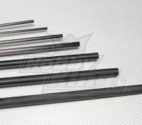 De carbono varilla de fibra (sólido) 1.5x750mm