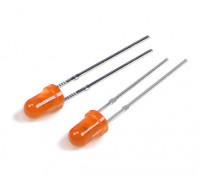 3mm LED naranja