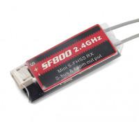 Futaba S-FHSS compatible con mini receptor de HV