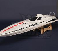 Osprey V-Hull sin escobillas / C Barco (1075mm) Hull R w / Motor y Hardware