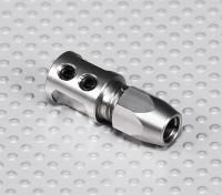 Adaptador de eje de acero - 5 mm del eje del motor al eje 5 mm Flexi