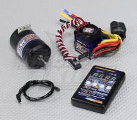 Hobbyking X-coche sin escobillas de alimentación del sistema 4000KV / 60A