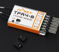 FrSky TFR4B 2,4 GHz de 4 canales de superficie / receptor compatible Aire FASST
