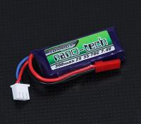Turnigy nano-tech 300mah 2S 35 ~ 70C Lipo Pack de