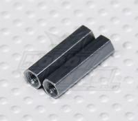 Turnigy Talon V2 M3 hexagonal roscado del espaciador (2 unidades)