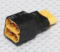 XT60 arnés para 2 Paquetes en paralelo (1 unidad)