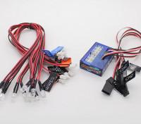 Sistema de iluminación LED inteligente Turnigy coche