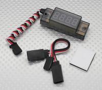 Mini tacómetro de encendido Uso (30000 RPM max)