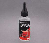 TrackStar silicona aceite de Diff 1200cSt (60 ml)
