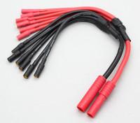 HXT 4 mm a 6 x 3,5 mm de bala Multistar ESC fuerza de arranque de cable