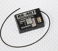 El receptor de 2,4 GHz superficie Sanwa / Airtronics RX-461 de telemetría (MT-4 FHSS-4T)