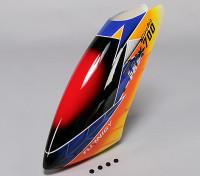 Turnigy High-End de la fibra de vidrio del pabellón de Trex 700 Nitro Pro