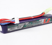 Turnigy nano-tech 1200mAh 3S 25-50C Lipo AIRSOFT Paquete