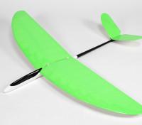 Mariposa Pod y Boom Planeador V-Tail edificadas 1140mm Ala - Verde (ARF)