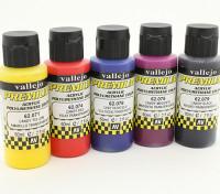 Vallejo Color Superior pintura acrílica - Selección de color caramelo (5 x 60 ml)