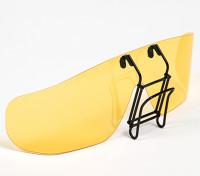 Turnigy clip de gafas de sol polarizadas (amarillo)