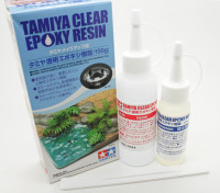 Tamiya Claro resina de epoxy (150g)