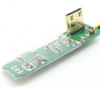 FPV mini HDMI a AV Junta convertidor