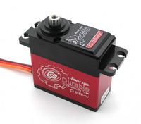 Durable de la energía HD D-25HV alto voltaje Digital Servo w / aleación de titanio Engranajes 25kg / 75g / .16sec