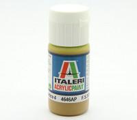 Italeri pintura acrílica - Piso 4 Giallo Mimetico