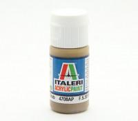 Italeri pintura acrílica - campo plano de color gris