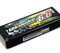 Turnigy nano-tech 6600mah último 2S2P 90C Estuche Lipo Pack (ROAR y BRCA Aprobados)