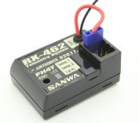 4 canales receptor de telemetría Sanwa / Airtronics RX-462 de 2,4 GHz FHSS-4T Súper respuesta