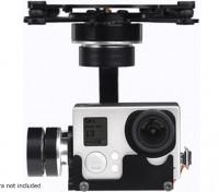 X-CAM A10-3H 3 ejes de rotación 360deg GoPro cardán con A / V Link