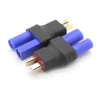 T-Conector de adaptador de batería EC5 (2pcs / bolsa)
