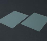 Hoja de FR4 Epoxy Glass 210 x 148 x 0,8 mm (2 piezas)