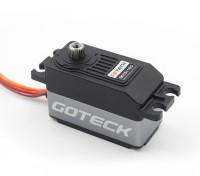 Goteck DC1511S Digital MG alto esfuerzo de torsión de perfil bajo servo de coches 12kg / 0.09sec / 45g