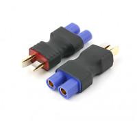 T-Conector de EC3 Batería Adaptador de enchufe (2 piezas) Nueva Versión