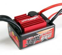 Trackstar 30A 1 / 16o escala sin sensores sin escobillas CES