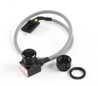Cámara Aomway Mini 600TVL CMOS FPV Tuned con micrófono y cable blindado (NTSC)