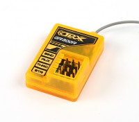 OrangeRx GR300R DSM / DSM2 3 canales Receptor compatible Planta de 2,4 GHz