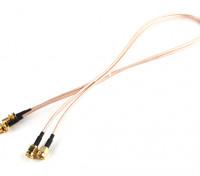 RP-SMA Plug <-> RP-SMA Jack 500mm RG316 Extensión (2pcs / set)