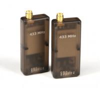 HKPilot 500mW transmisor-receptor de radio telemetría Set V2 (433Mhz)