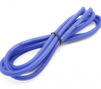 Turnigy alta calidad de silicona 12AWG Wire 1m (azul)