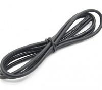 Turnigy alta calidad de silicona de alambre de 14 AWG 1m (Negro)