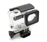 Vivienda de protección esqueleto con la lente para GoPro Hero 3 plus