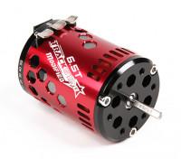TrackStar 6.5T Sensored sin escobillas del motor V2 (ROAR aprobado)