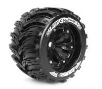 """LOUISE MT-CICLÓN 1/8 Escala del estilo de Traxxas grano de 3,8 """"Monster Truck DEPORTES Compuesto / Borde Negro"""